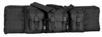 42-inch MOLLE Soft Rifle Case, Padded Weapon Bag with Backpack Straps
