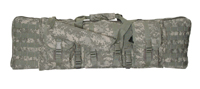 46-inch MOLLE Soft Rifle Case, Padded Weapon Bag with Backpack Straps