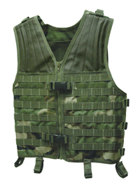Voodoo Tactical Assault Vest with MOLLE Webbing, FLC
