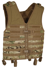 Voodoo Tactical Assault Vest with MOLLE Webbing, FLC MultiCam