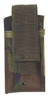 Single MOLLE Pistol Magazine Pouch, Fits Double Stack Mag