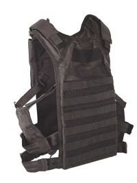 Rapid Assault Tactical MOLLE Plate Carrier Vest w/Option Side Protection