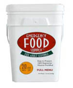 Emergency Food Supply - 200 Servings