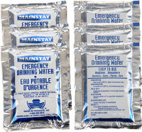 6 Pack of Water Pouches