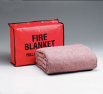 Fire Retardant Blanket- 62 in. x80 in. - (70% wool- 30% man-made fibers)