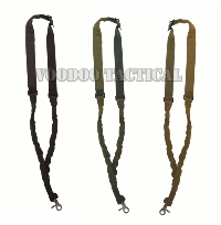 New Single Point Tactical Rifle Sling with Bungee